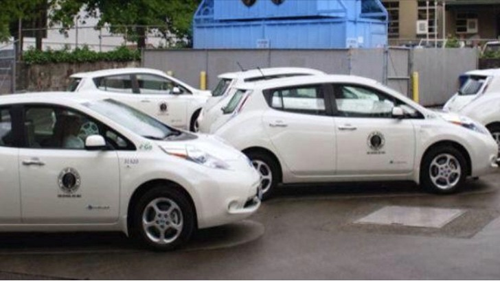 Seattle Police Department Is Using Nissan Leaf Evs For Traffic