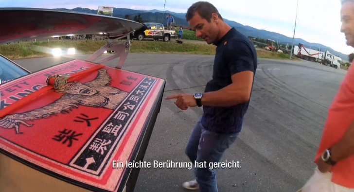 Sebastien Loeb and Mark Webber Have Fun Drifting a BMW [Video]