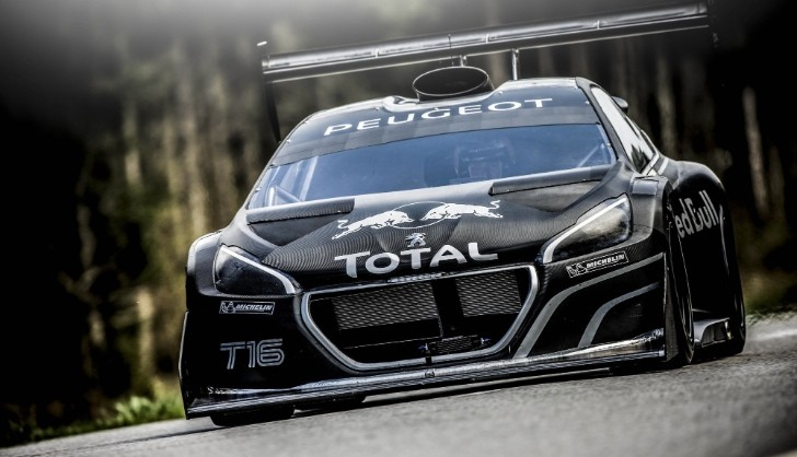 Sebastien Loeb Stunned by the Peugeot 208 T16 Pikes Peak [Video][Photo Gallery]