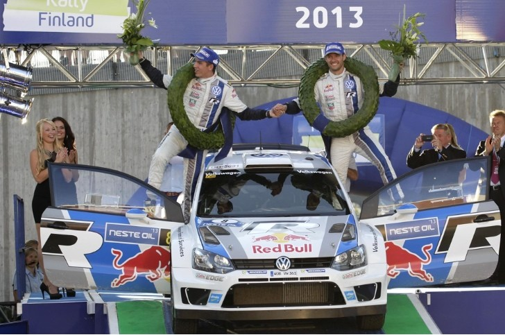 Sebastien Ogier Wins Again for Volkswagen in Finland