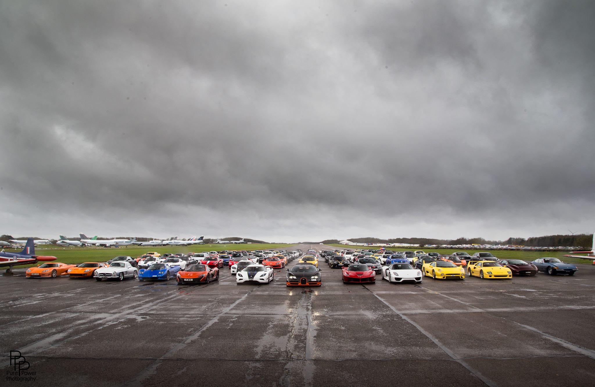 Secret Supercar Meet Is Where Hypercars And Supercars Race