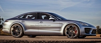 Sedan Version of the Porsche Panamera Sport Turismo Rendered