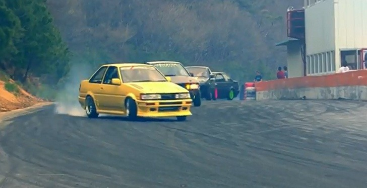 See a Batch of Drifting Toyota AE 86s [Video]