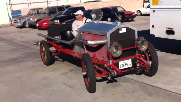 See a Toyota Powered Homemade 1928 Plymouth [Video]