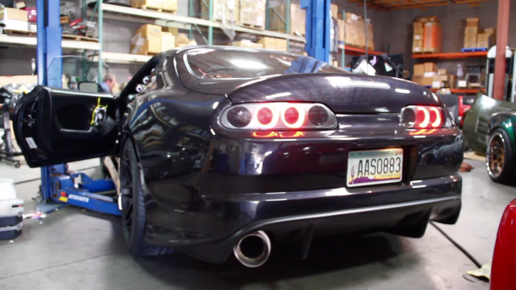 See a Vicious Toyota Supra from SEMA [Video][Photo Gallery]