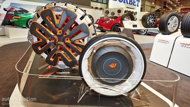See Hankook's Future Tires and Other Funky Rims at Essen ...