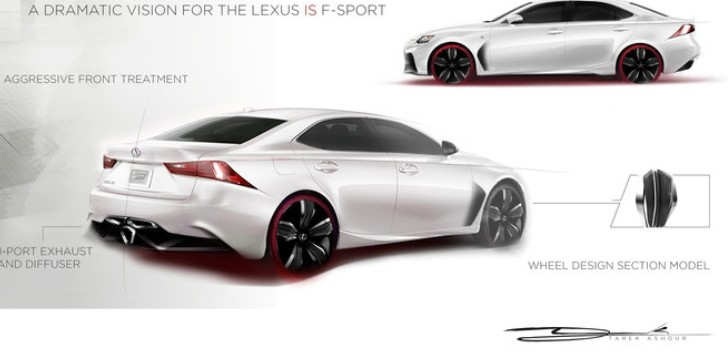 See Lexus IS Design Contest Semi Finalists [Photo Gallery]