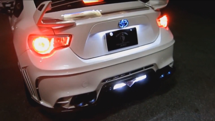See More of the Toyota GT 86 With Titanium Exhaust [Video]