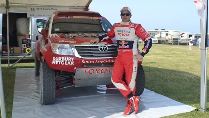 See the Tough Dakar Hilux Toyota Brought to Goodwood [Video]