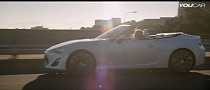 See the Toyota FT 86 Convertible Concept in Action [Video]