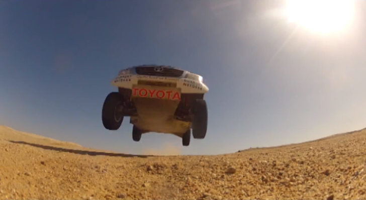 See Toyota South Africa Testing the Dakar Hilux in Namib [Video]