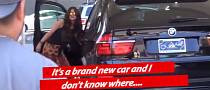 Selena Gomez Can't Handle Her BMW X5 [Video]