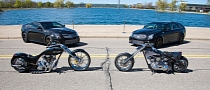 Senior vs. Junior American Chopper Cadillac Bikes Up for Grabs