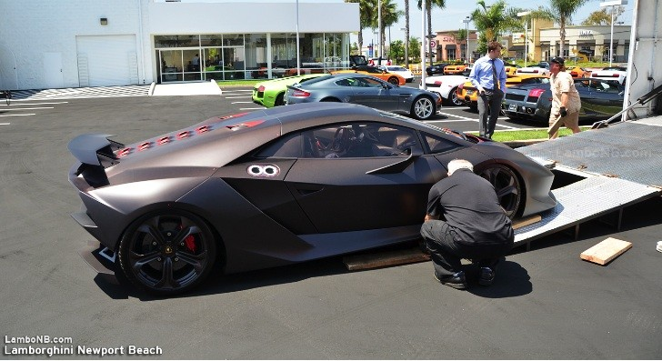 Sesto Elemento Delivery at Lamborghini Newport Beach [Photo Gallery]