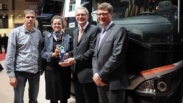 Setra Snatches Five Awards at Busworld 2013