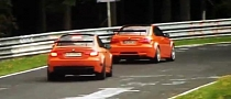 Seven BMW M3 GTS on the Nurburgring [Video]