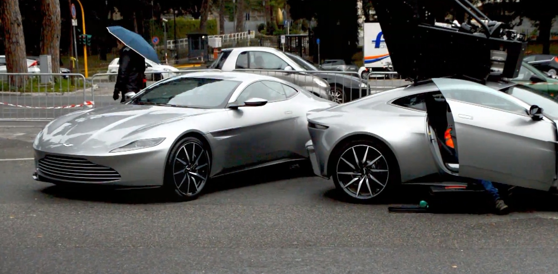 Several Aston Martin Db10 Concepts Seen In Rome During