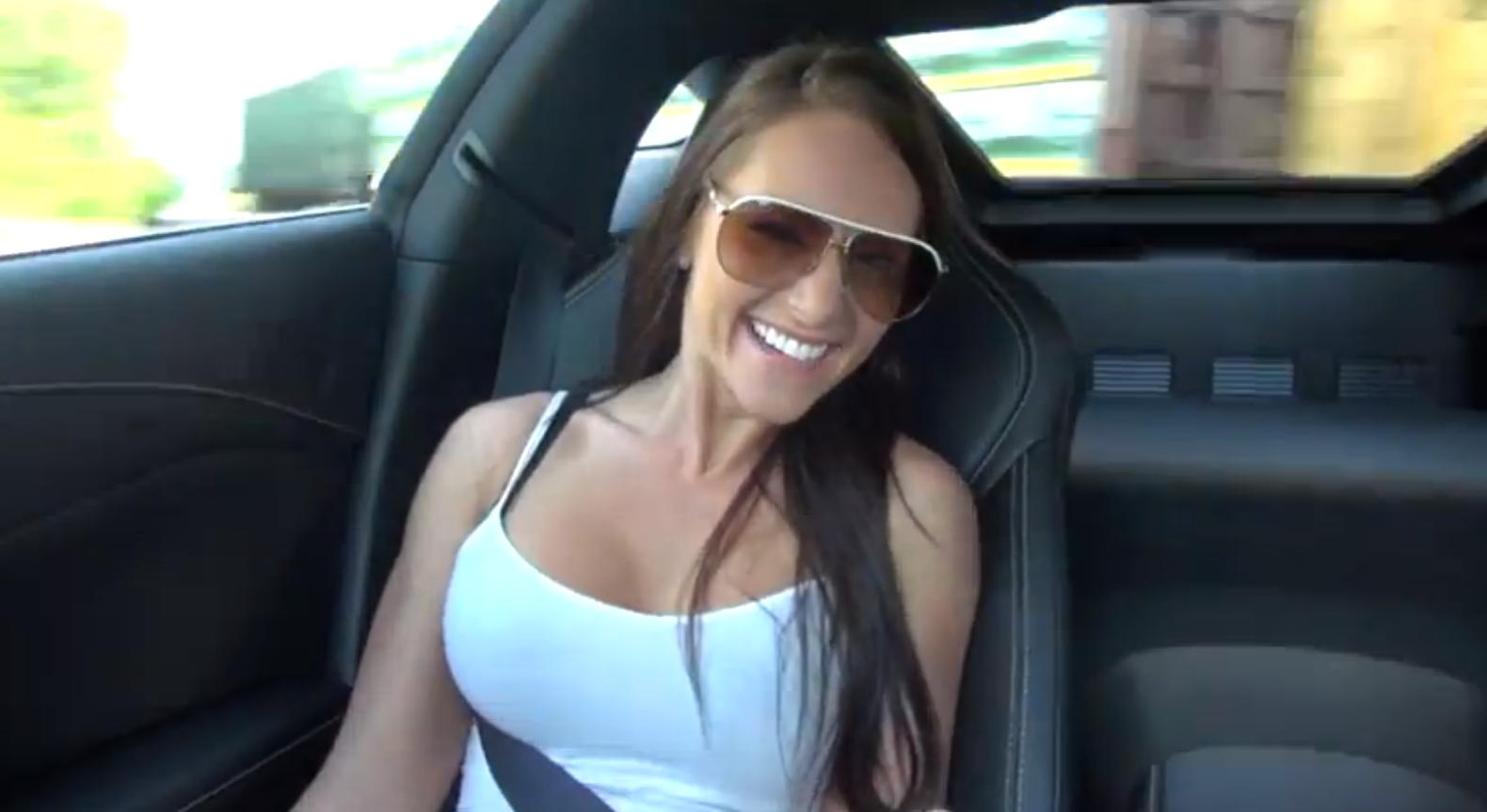 Hot Girl in Passenger Seat
