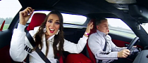 Sexy Miss Universe Girls Ride in Mercedes SLS [Video]