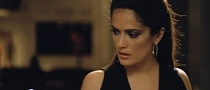 Sexy Salma Hayek Hunts for Milk in Lexus RX SUV [Video]