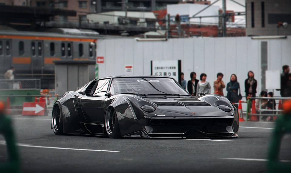 Shakotan Lamborghini Miura Widebody Rendering Is Ready To Offend