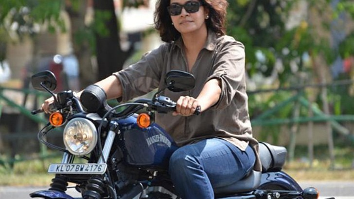 she is the first female harley-davidson owner in indian state