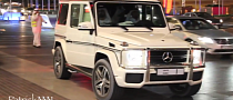 Sheikh Mohammed Rolls in a Mercedes G63 AMG [Video]