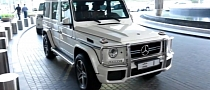 "Sheikh Mohmmed's G63 AMG Sports ""1"" Dubai Plate [Video]"
