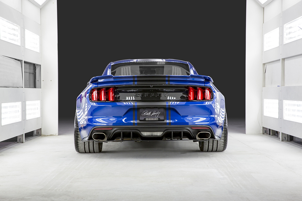 Shelby American S New Concept Car Is A Widebody Mustang