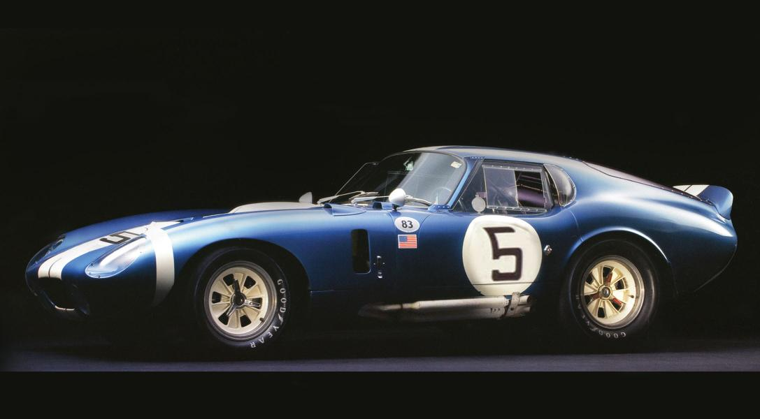 Shelby Cobra Daytona To Headline Carroll Shelby Tribute