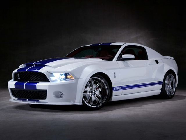 Shelby Gt500 Gets Galpin Widebody Kit Autoevolution