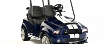 Shelby GT500 Golf Cart Packs 3 HP [Photo Gallery]