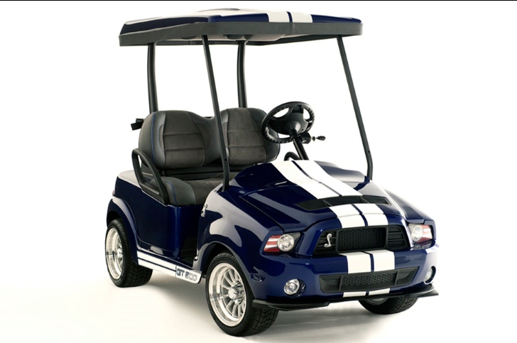 Rolls Royce Golf Cart >> Shelby GT500 Golf Cart Packs 3 HP - autoevolution