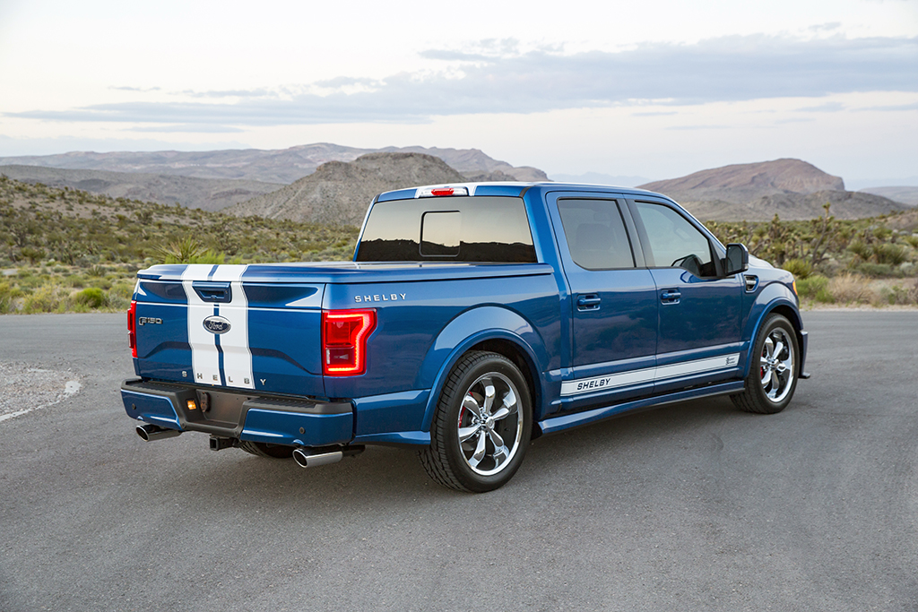 2018 Super Snake F 150 >> Shelby Muscles Up The Ford F-150 To 750 HP - autoevolution