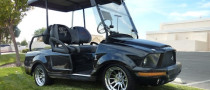 Shelby Mustang GT500KR Golf Cart for Sale
