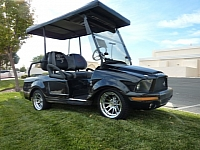 2008 Ford Shelby Mustang GT500KR golf cart