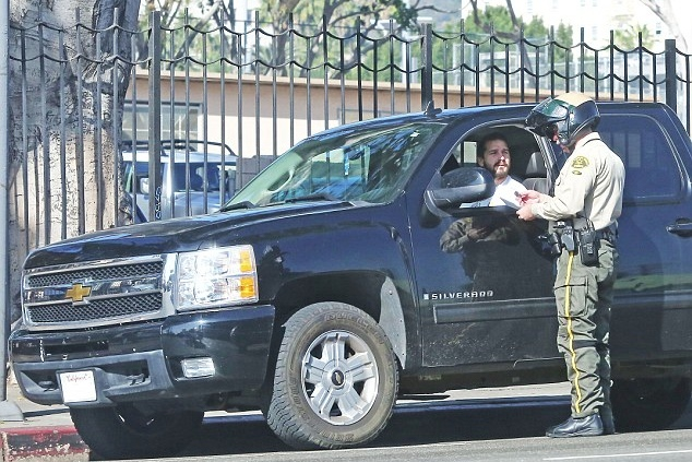 Shia LaBeouf Gets Pulled Over While Driving His Chevrolet ...