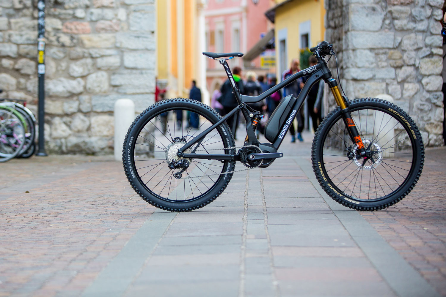 Shimano Shows E8000 Electric Assist Motor For Mountain