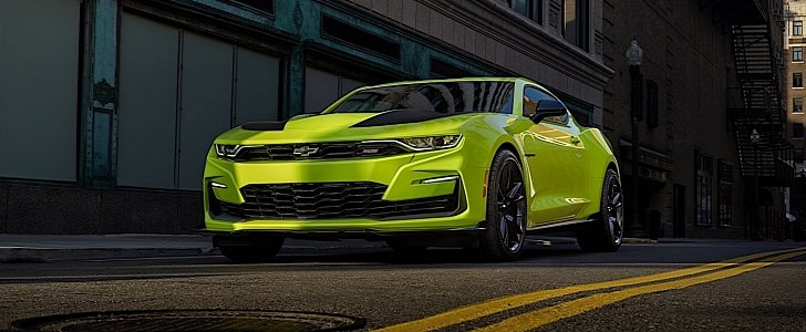 Shock Yellow 2019 Chevrolet Camaro Ss Sema Show Car