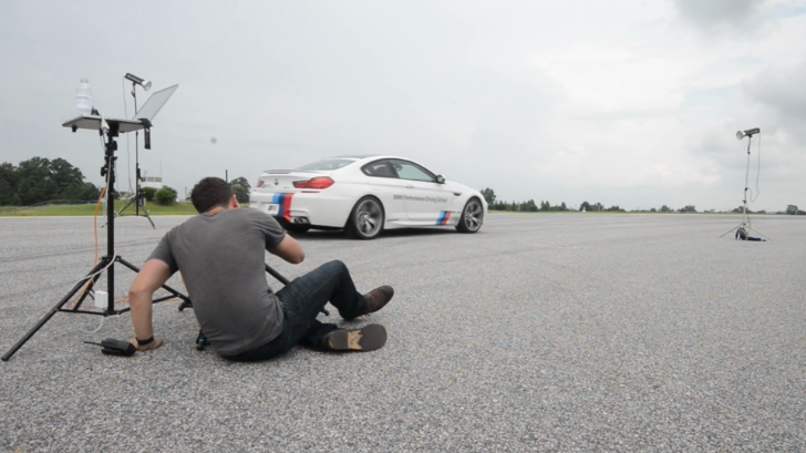 Shooting a 58 Foot Wide Print of Drifting Cars for BMW [Video]
