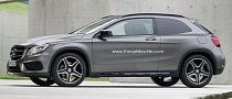 Short Wheelbase Mercedes GLA 3-Door Is Nifty