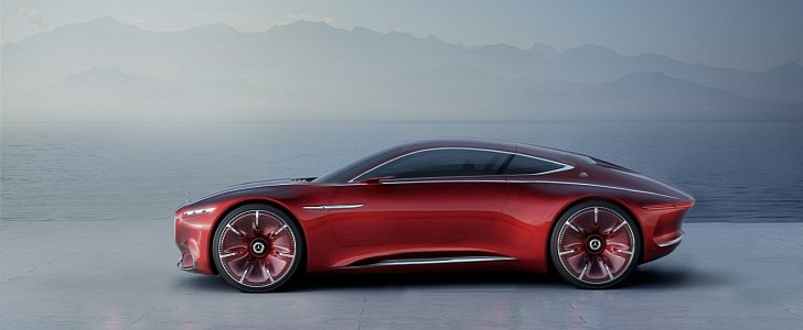 "Shortened Vision Mercedes-Maybach 6 Concept Rendering Makes It Look ""Normal"""