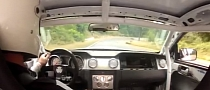Shotgun Ride in NASCAR-powered Ford Mustang [Video]