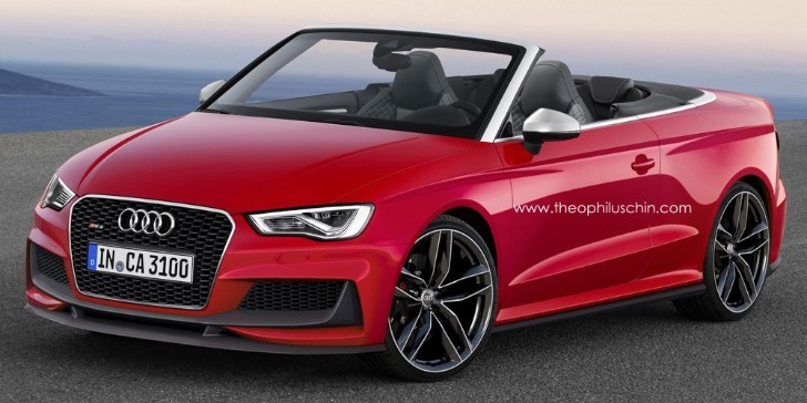 A3 Sedan Cabrio >> Should Audi Build an RS3 Cabriolet? - autoevolution