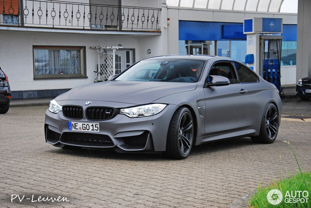Showstopper Frozen Grey Bmw M4 Spotted Autoevolution
