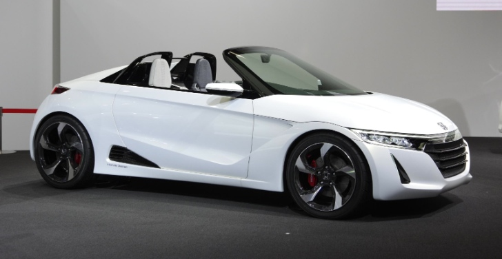 Shrunken NSX: Honda S660 Kei Sportscar Coming in 2015 - autoevolution