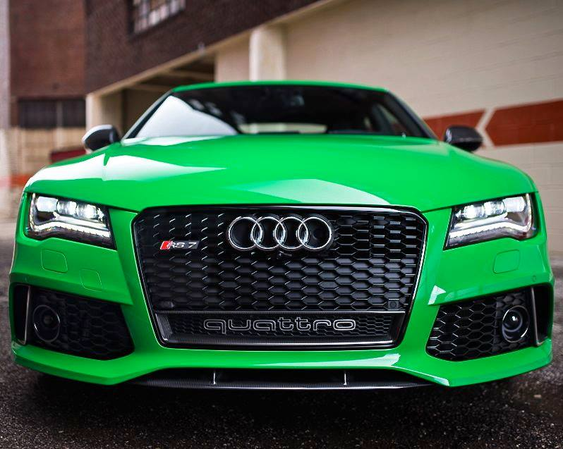 Signal Green Audi RS Is Seriously Cool Autoevolution - Green cool cars