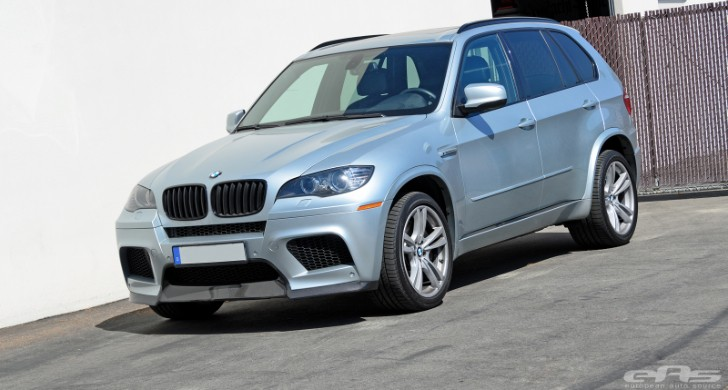 Silverstone BMW X5 M Gets Lip and Diffuser at EAS [Photo Gallery]