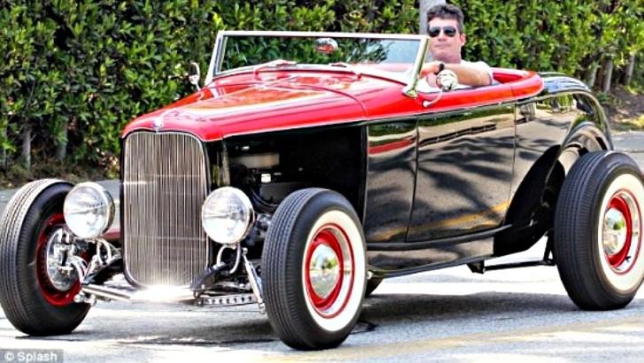 simon cowell in custom 1932 ford hot rod autoevolution. Black Bedroom Furniture Sets. Home Design Ideas