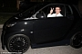 Simon Cowell Spotted Driving a smart with Kahn Wheels